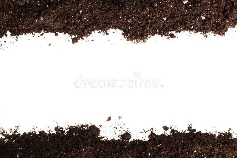 Sección del suelo o de la suciedad fotos de archivo libres de regalías