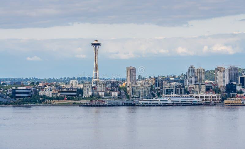 Sección urbana 5 del horizonte foto de archivo