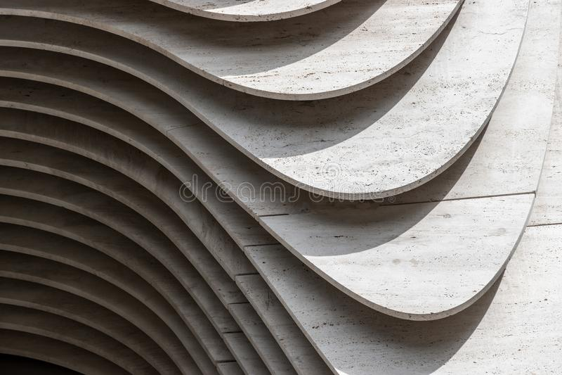Secciones del muro de cemento, fondo abstracto fotos de archivo libres de regalías