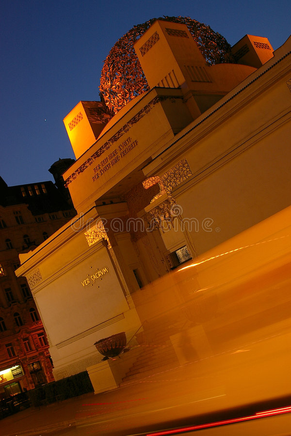 Secesión Viena fotografía de archivo libre de regalías