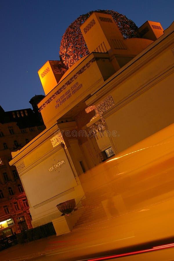 Secessione Vienna fotografia stock libera da diritti