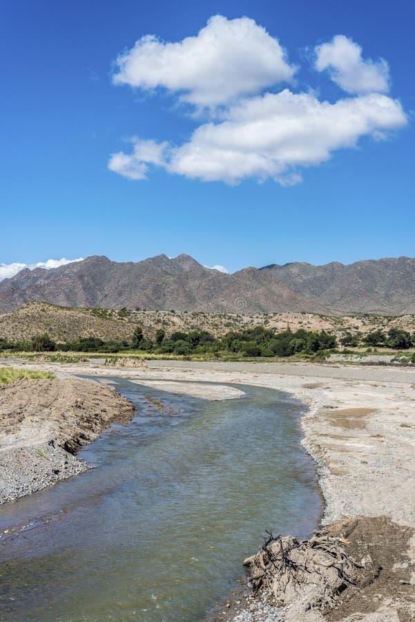 Seclantas i det Salta landskapet, Argentina. arkivfoton