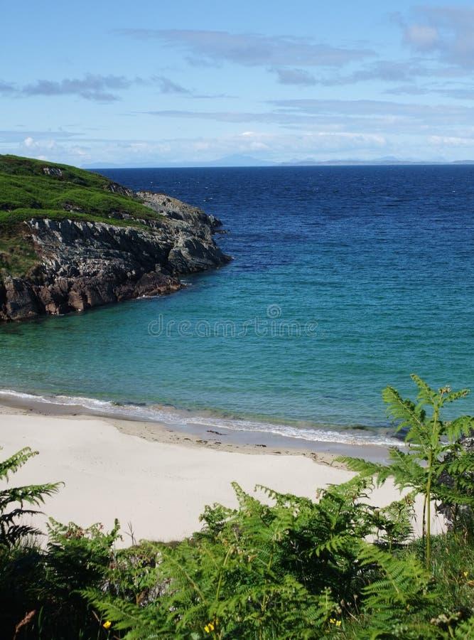 Secluded Bay Near Sanaigmore, Islay, Scotland Stock Images