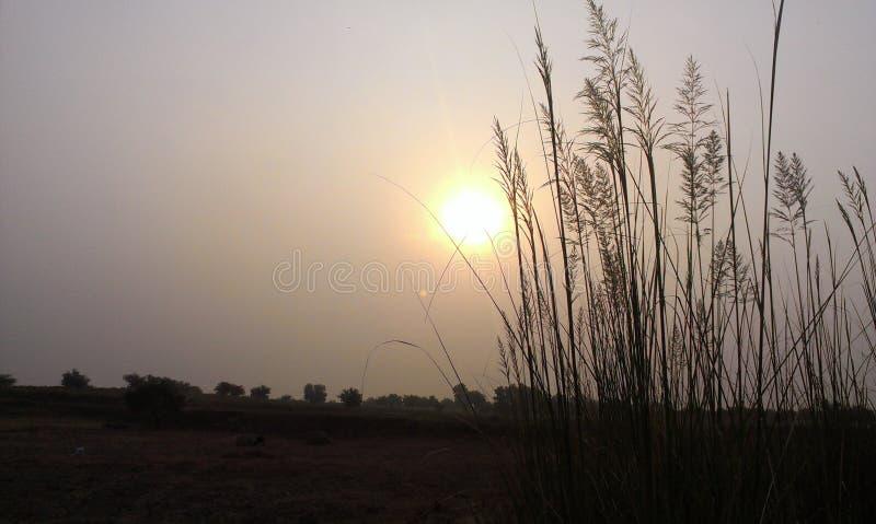 Secne de la subida de Sun imagen de archivo libre de regalías