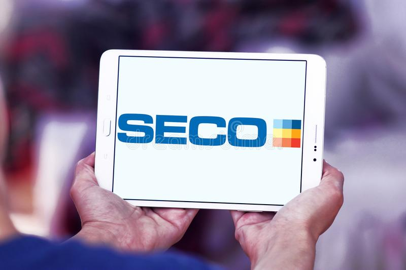 Seco Tools company logo editorial image  Image of carries