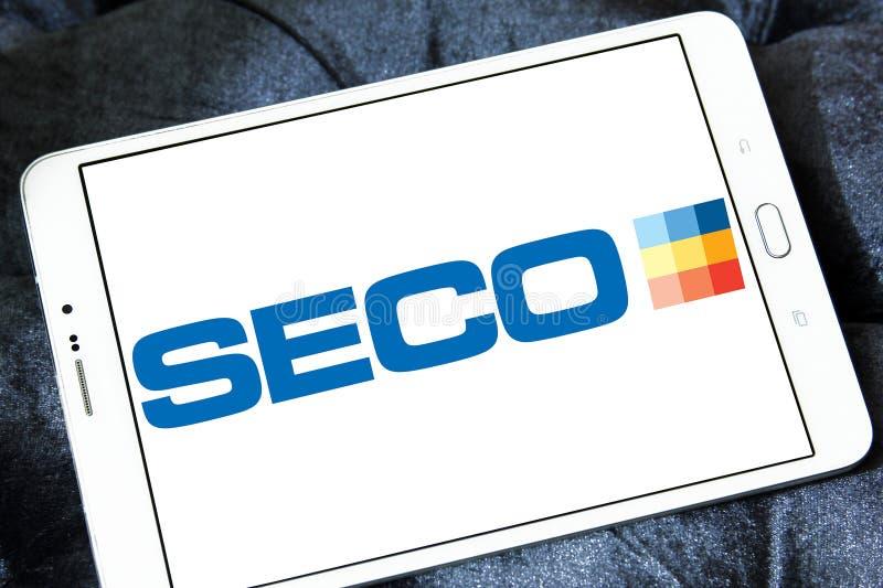 Seco usine le logo de société photographie stock