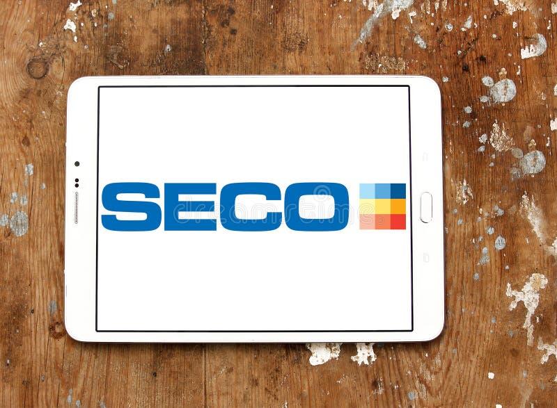 Seco usine le logo de société image stock