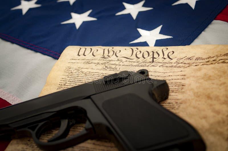 The second amendment royalty free stock photos