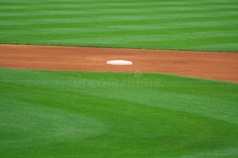 Download Second Base stock image. Image of infield, american, ball - 2548207