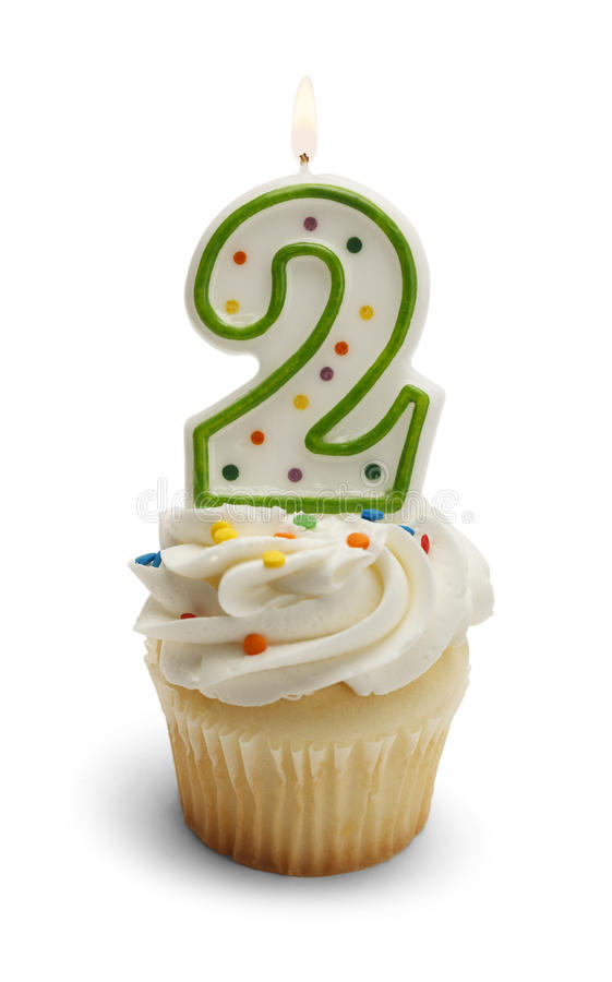 Second Birthday stock image