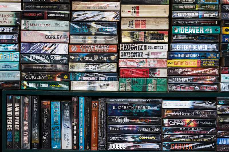 Second hand book stock photography