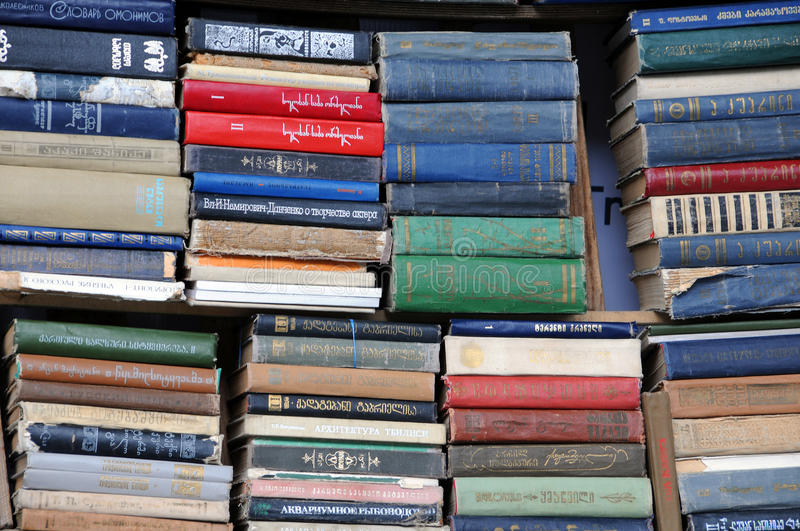 Second-hand Books royalty free stock photo