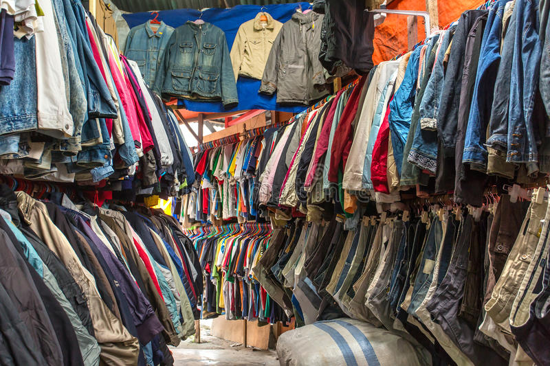 Second hand store. Classic second hand store interior royalty free stock images