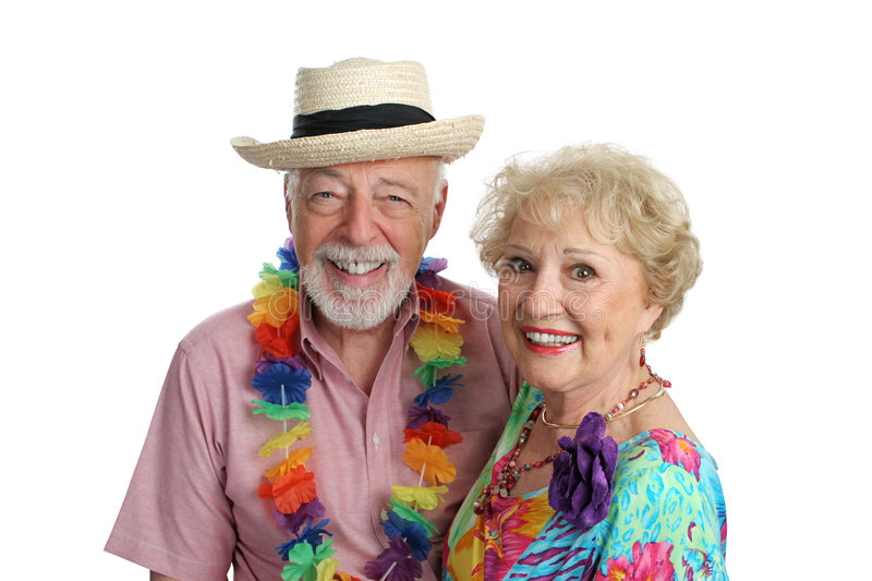 Second Honeymoon. An attractive mature couple enjoying their second honeymoon on a tropical vacation