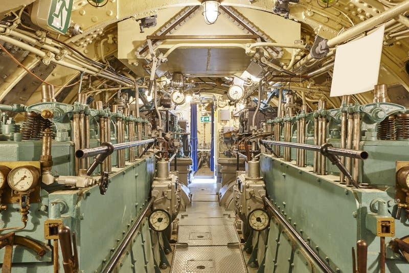 Beautiful Download Second War World Submarine Interior. Engine Room. Military Vesse  Stock Image   Image