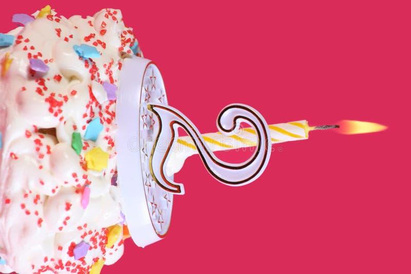 seconda celebrazione di compleanno immagini stock
