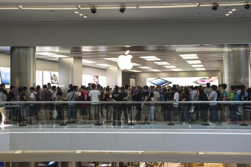 In secondo luogo Apple Store di Hong Kong immagini stock libere da diritti