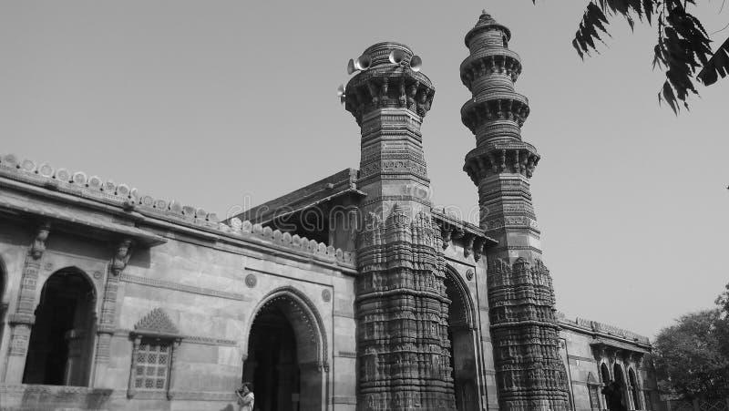 Secousse des minarets image libre de droits