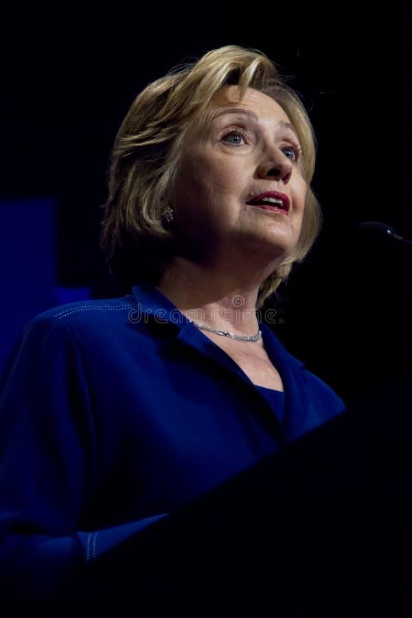 Secrétaire d'état des Etats-Unis Hillary Clinton images libres de droits