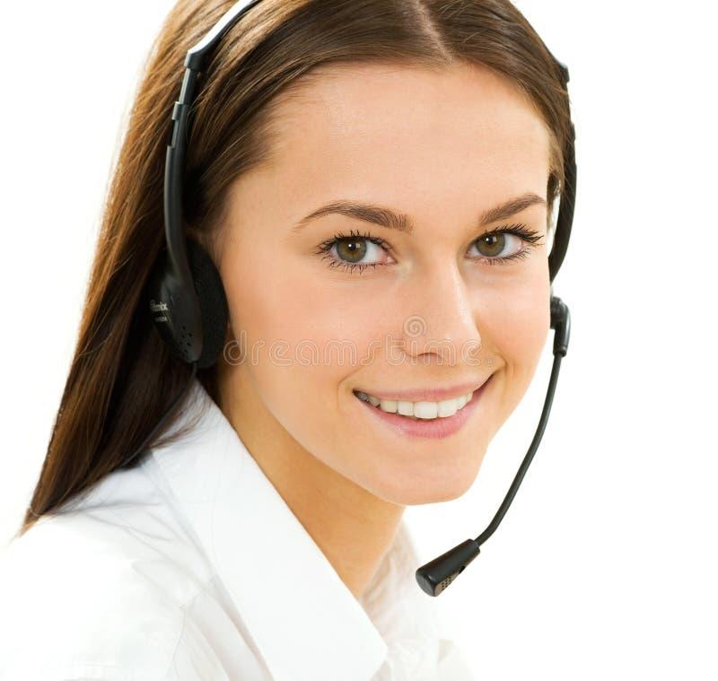 Secrétaire/téléphone images stock