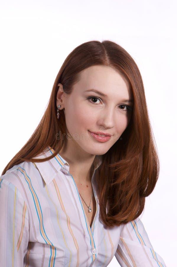 Secretária bonita fotos de stock royalty free