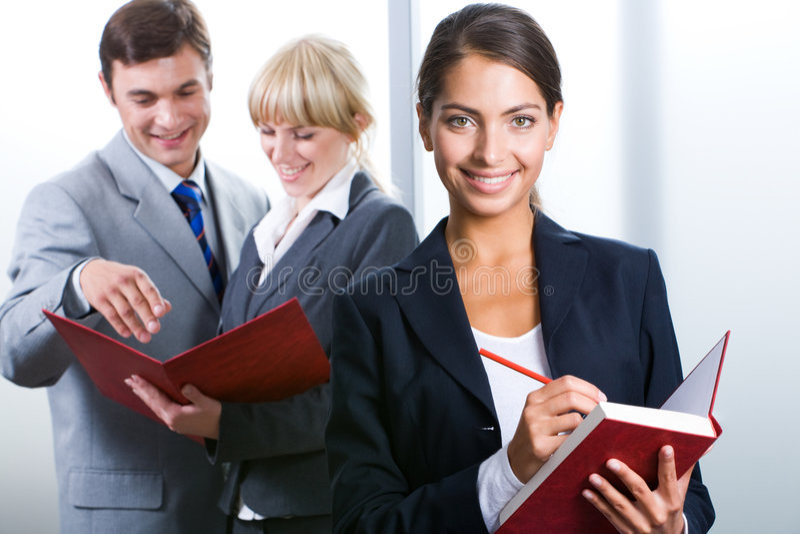 Secretário executivo imagem de stock royalty free