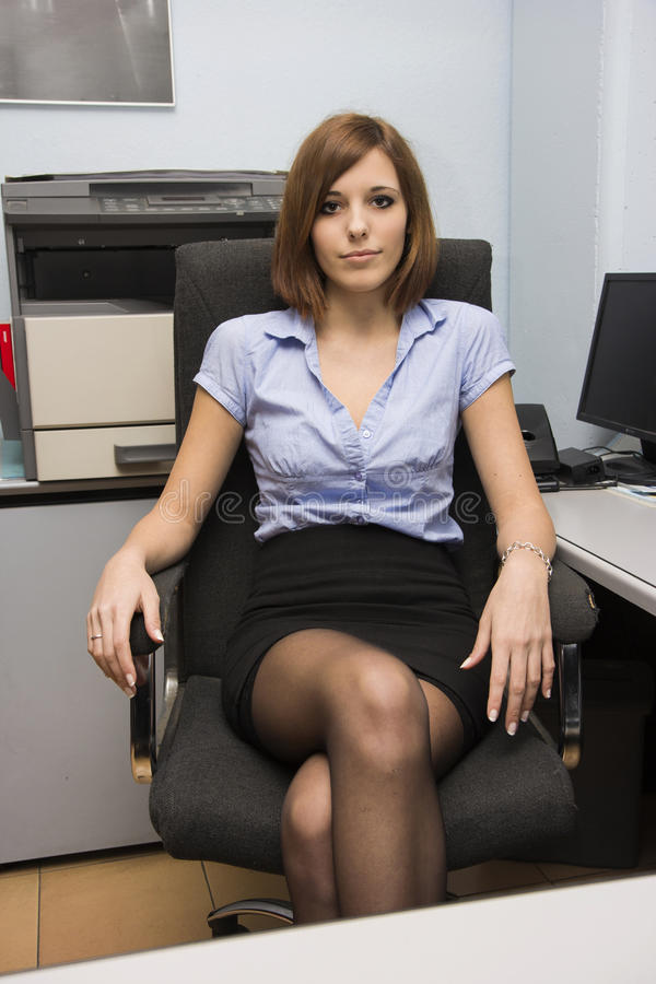 Secretário 'sexy' imagens de stock
