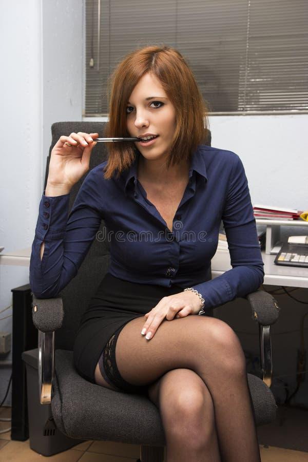 Secretário 'sexy' imagem de stock royalty free