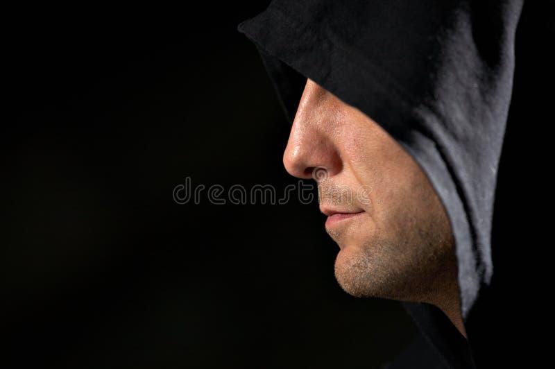 Download Secret stock image. Image of hooded, night, hoodlum, male - 6462053