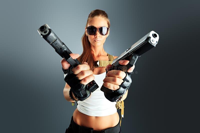 Secret agent royalty free stock photography