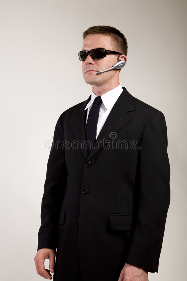 Secret Agent Observing stock photography