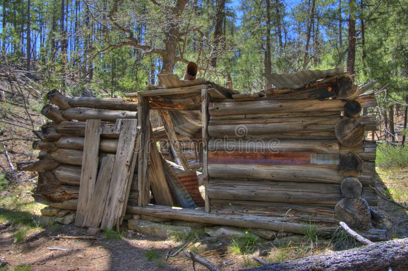 Secret Cabin royalty free stock images