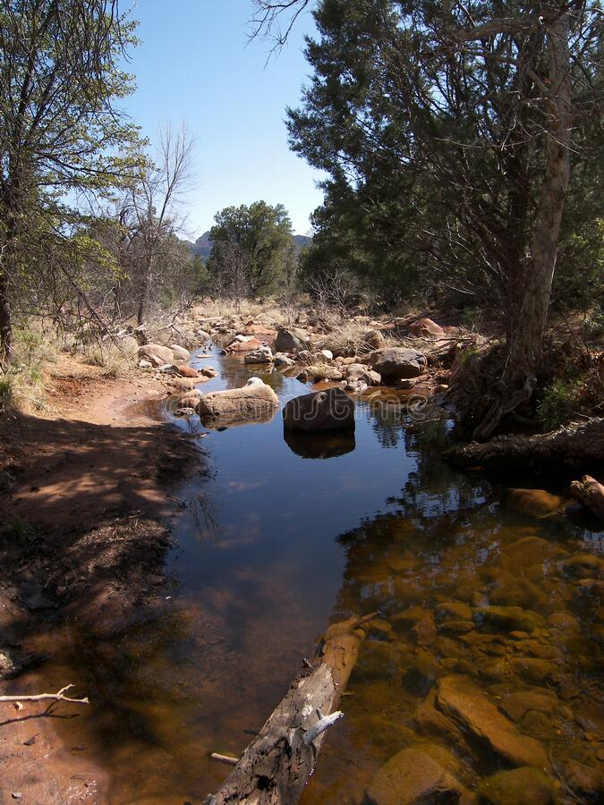 Secret Canyon Trail royalty free stock images