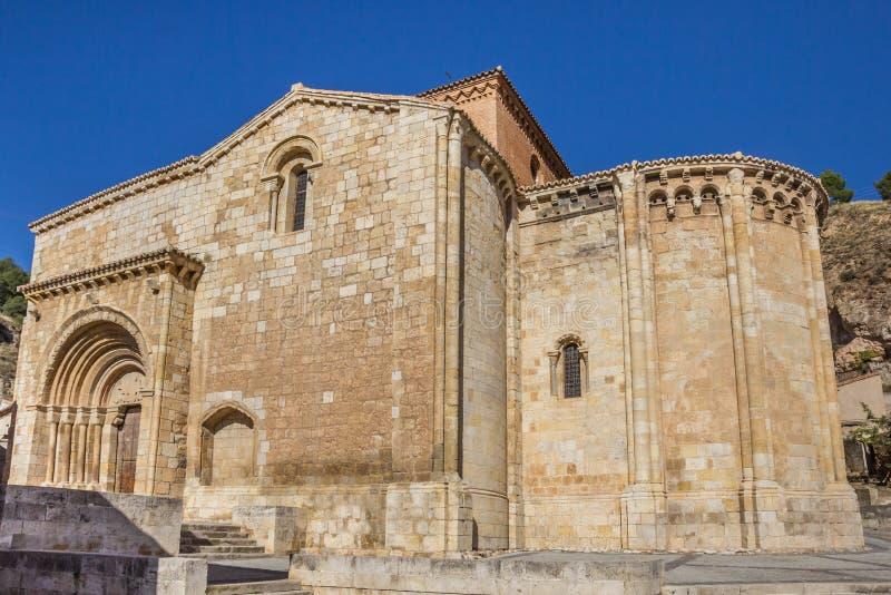 Secret dans la ville médiévale Daroca image stock