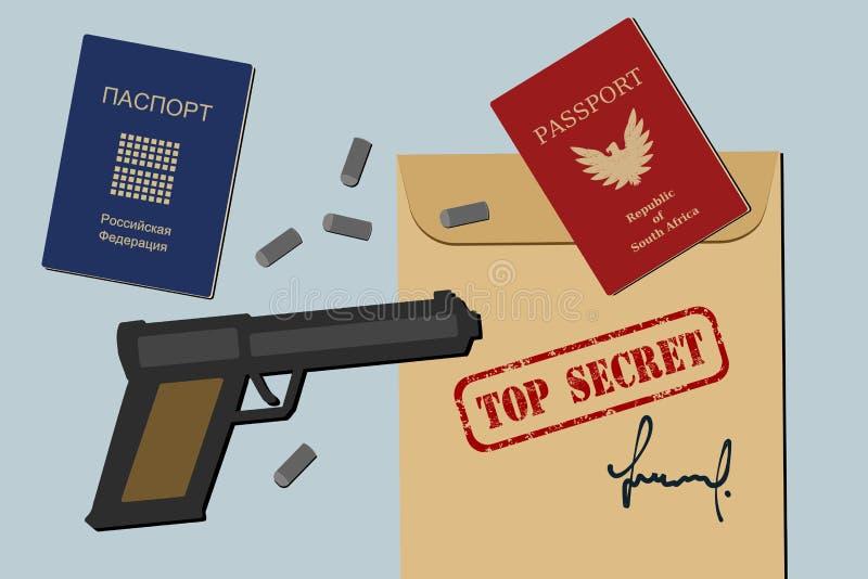 Download Secret documents stock illustration. Illustration of archive - 27567245
