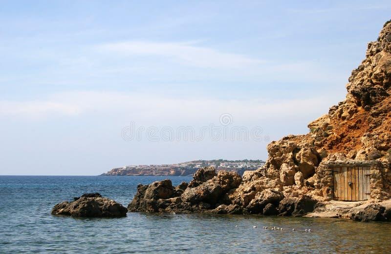 Download Secret Door stock photo. Image of water, summer, cliff - 19199594