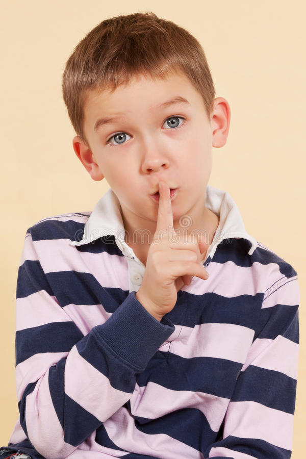 Download The Secret. Finger Over Mouth. Psst. Stock Photo - Image: 22832524