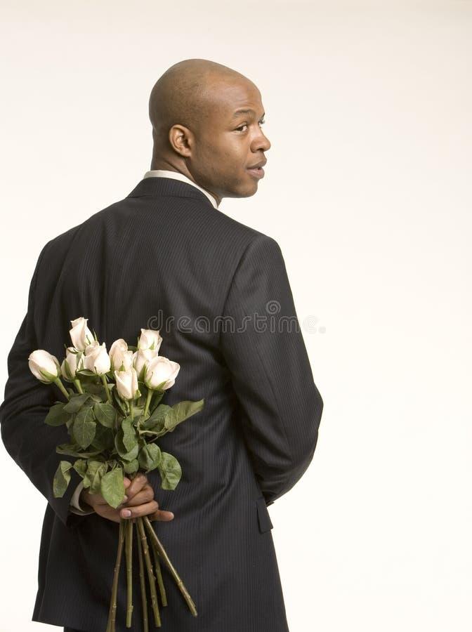 Secret flowers stock image