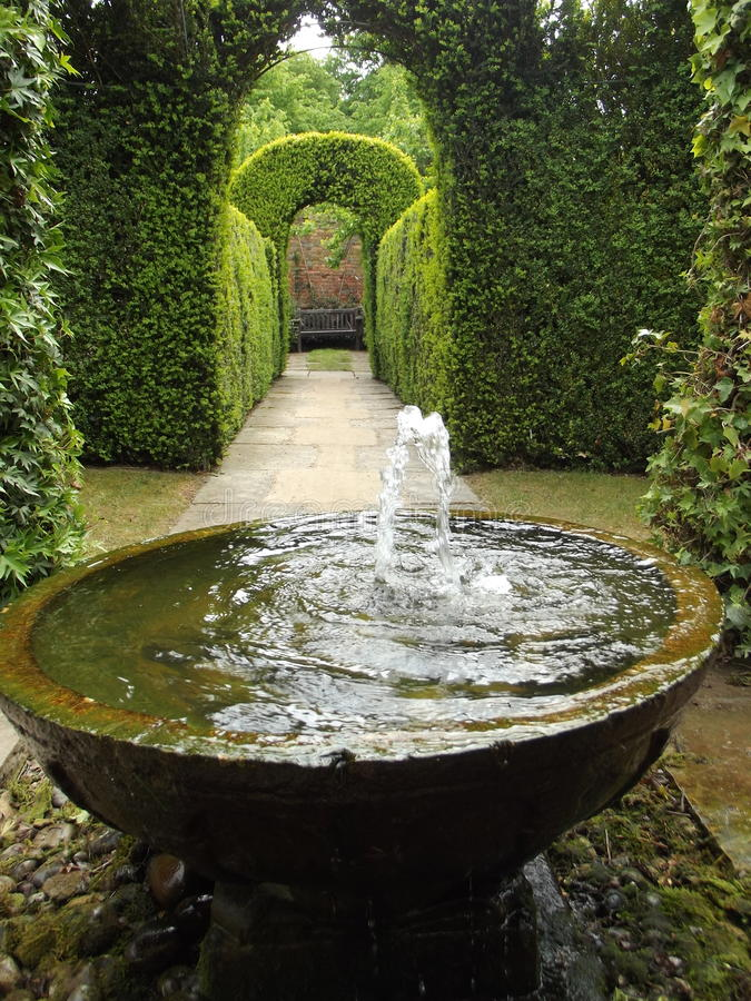 The Secret Fountain royalty free stock photos