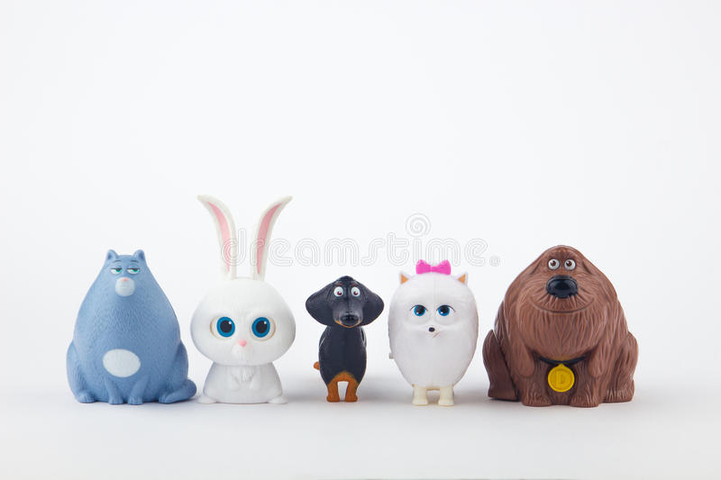 The Secret Life of Pets Toy royalty free stock image