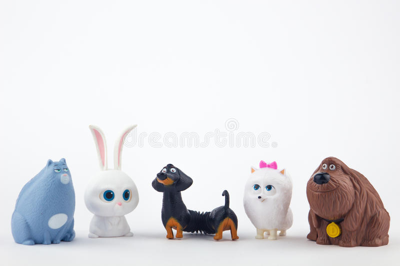 The Secret Life of Pets Toy stock image