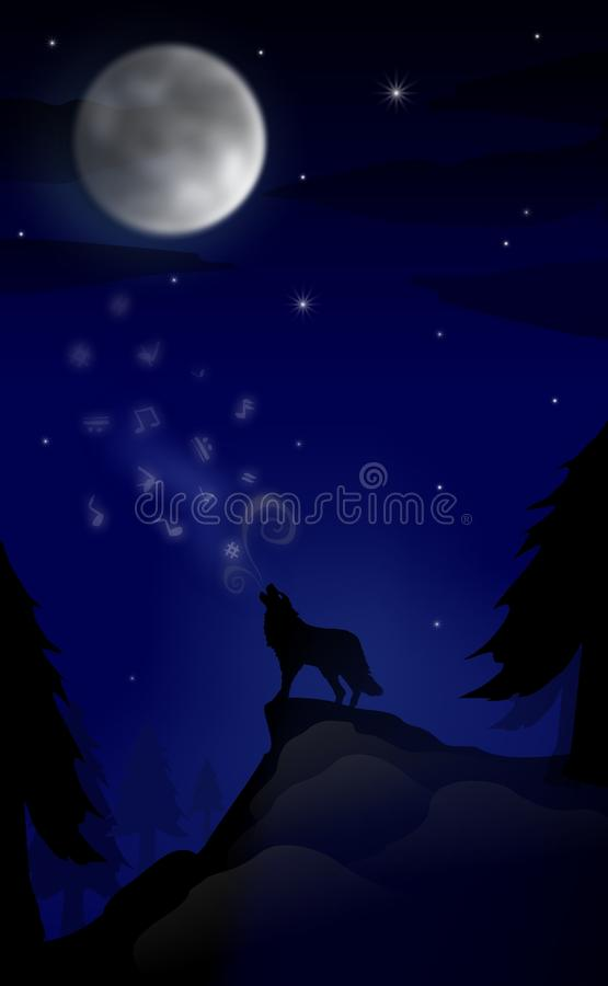 Free Secret Of The Moonlight Stock Photography - 17995282