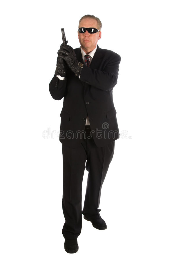 Free Secret Service Agent. Stock Photos - 5139463