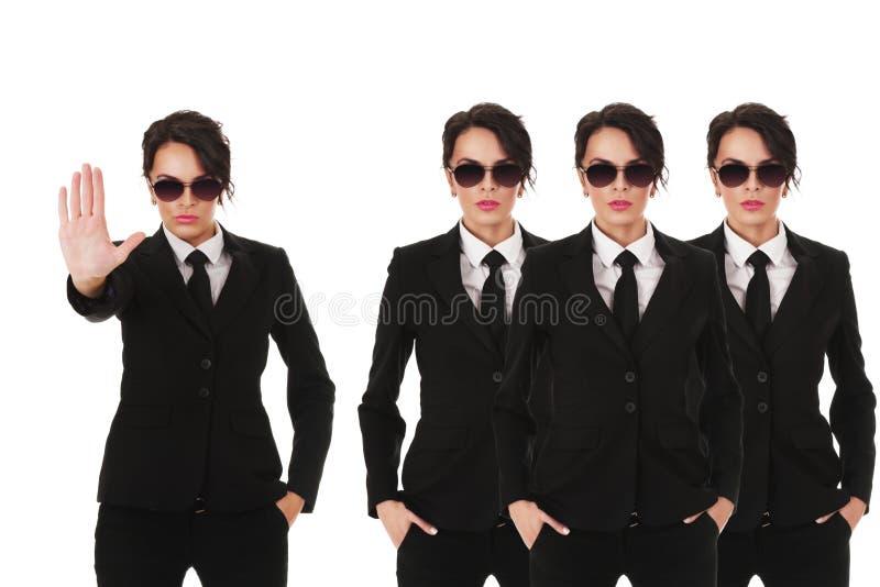 Secret service agents stock photo