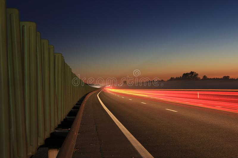 The secret side of the highway royalty free stock photos
