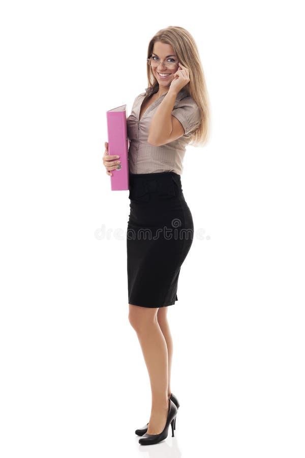 Secretaresse stock foto