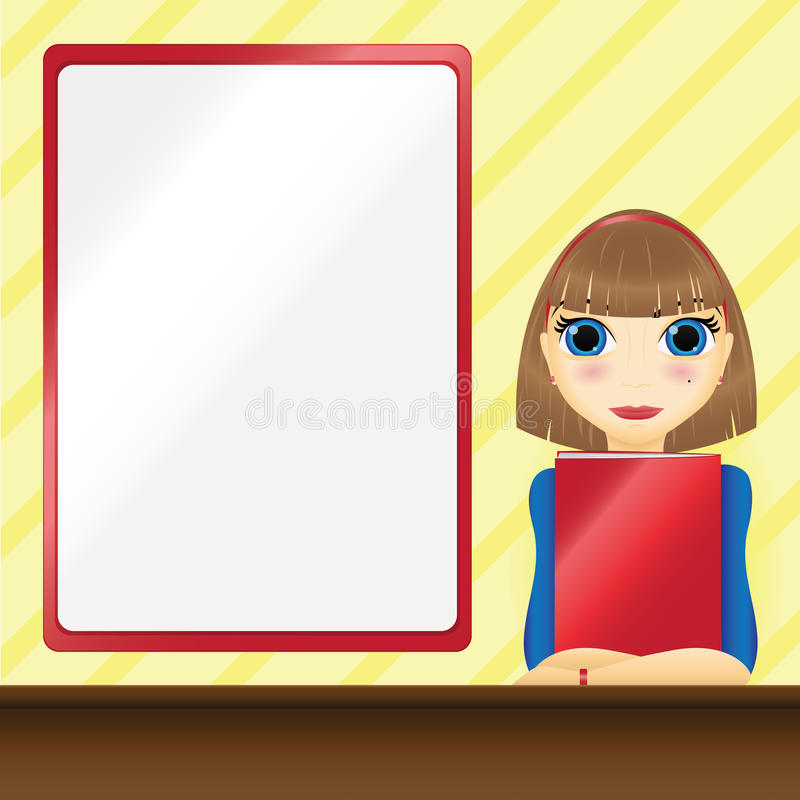 Download Secretary stock vector. Image of office, clerk, presentation - 20340198