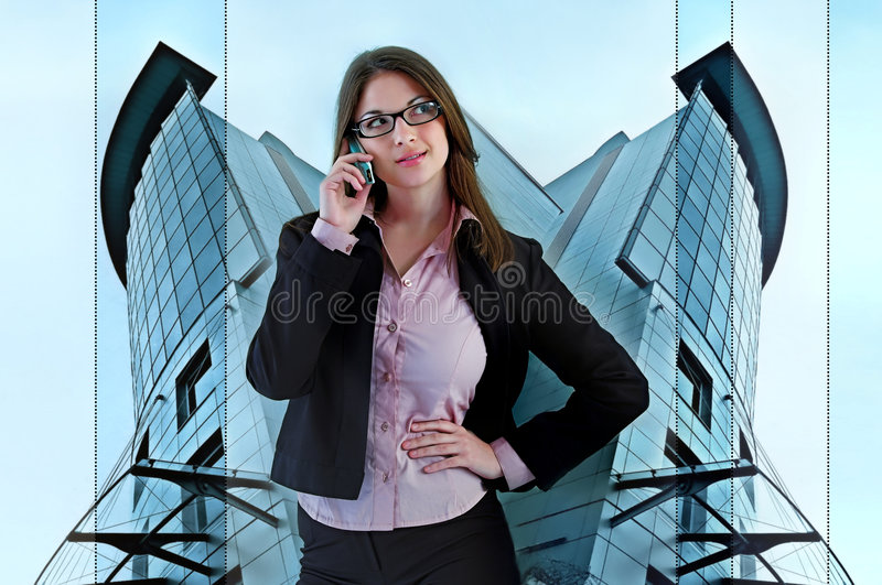 Secretary stock photo
