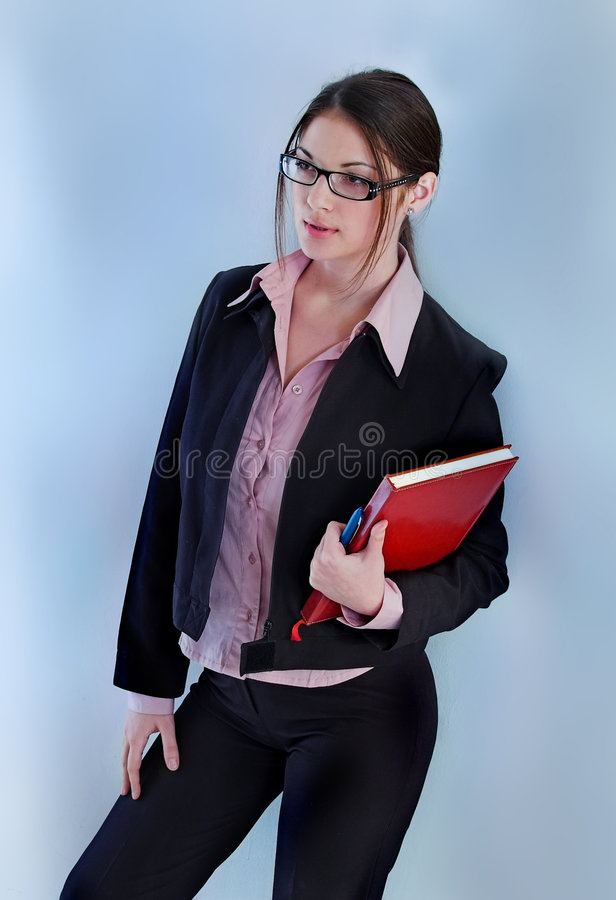 Download Secretary stock photo. Image of happiness, file, good - 3910526