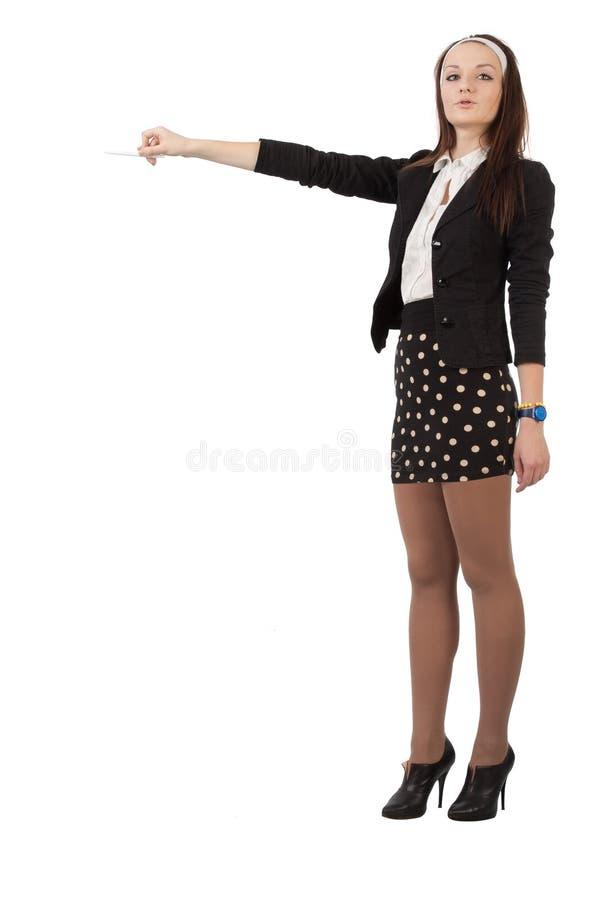 Download Secretary At A Presentation Stock Image - Image: 21817459